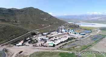 Buenaventura suspenderá temporalmente producción en mina Orcopampa - El Comercio