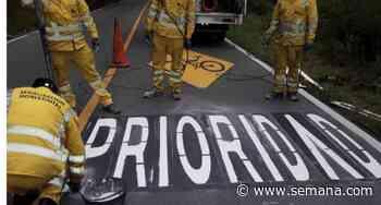 Así buscan Bogotá y Cundinamarca disminuir accidentes en la vía Choachí - Semana