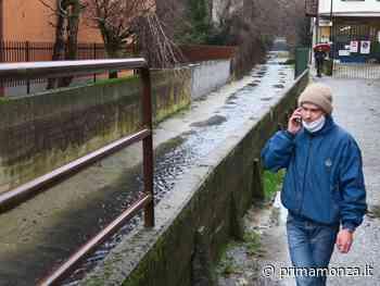 sversamento Allarme a Triuggio, la Brovada scende nera - Prima Monza