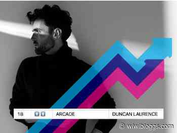 "Success for Duncan Laurence as ""Arcade"" enters UK Trending Chart - wiwibloggs"