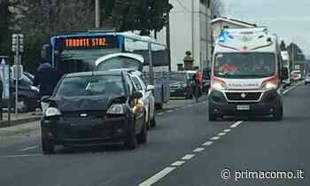 Incidente a Locate Varesino tre giovani in ospedale. Illesa una ragazzina 11enne - Prima Como