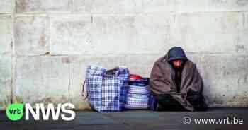 Daklozen in Etterbeek kunnen aangehouden worden als ze niet naar opvangcentrum willen - VRT NWS