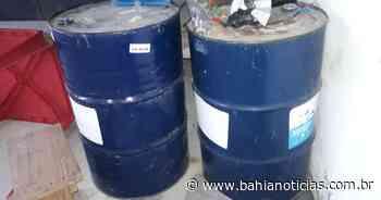 Polícia encontra depósito clandestino de combustíveis em Itapetinga - Bahia Notícias