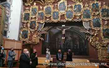 """Presentan el libro """"Santa Rosa de Viterbo, el esplendor de los misterios"""" - Diario de Querétaro"""