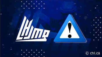 QMJHL postpones games in the protected environment event in Chicoutimi - Canadian Hockey League