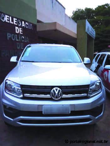 PM prende em Santa Mercedes homem que roubou caminhonete em Presidente Venceslau - Portal Regional Dracena
