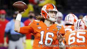 Report: Seven of top 10 teams in draft will watch Trevor Lawrence throw Friday