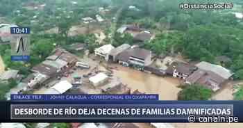Oxapampa: Desborde de río Pichis dejó decenas de damnificados - Canal N