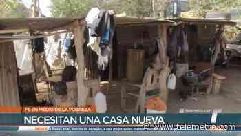 Fe en medio de la pobreza, familia en Pesé busca mejorar su calidad de vida - Telemetro