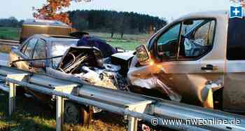 Zusammenstoß bei Molbergen: Ein Toter bei schwerem Unfall - Nordwest-Zeitung