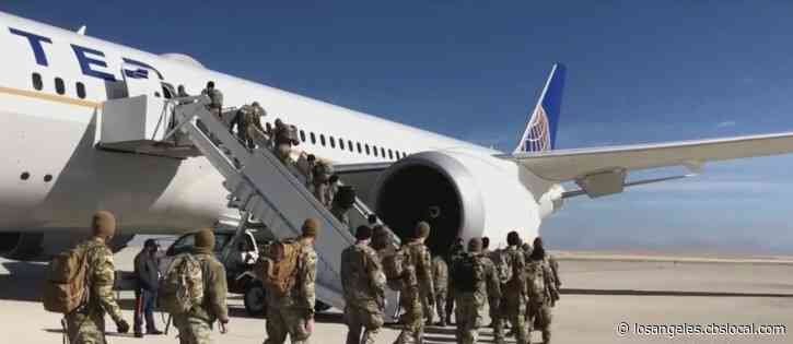 200 Colorado Soldiers Deployed To LA To Assist With Vaccine Distribution At New FEMA Site