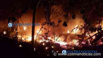 Familia de El Colomo pierde todo al incendiarse su vivienda - colimanoticias