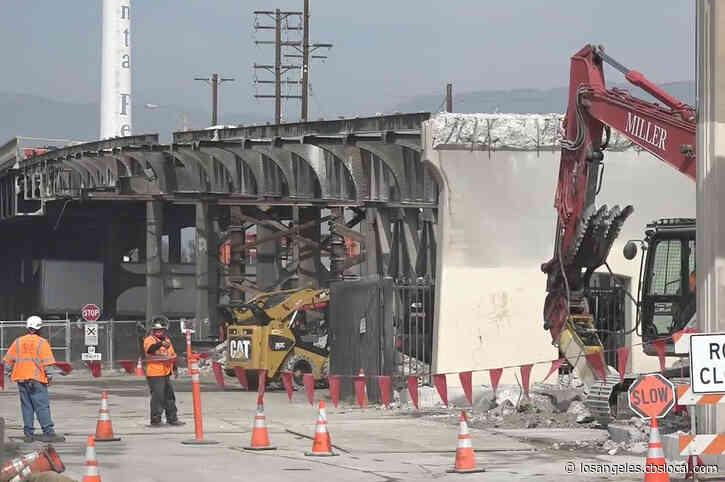 Demolition Begins On San Bernardino's Mount Vernon Avenue Bridge