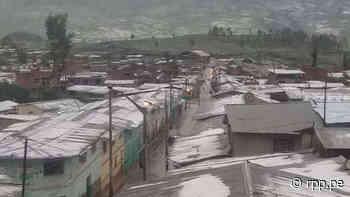 Ayacucho   Una anciana falleció por hipotermia tras lluvias con granizo en Puquio [VIDEOS] - RPP