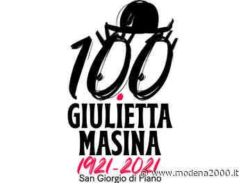 """Nel centenario della nascita, a San Giorgio di Piano """"Scintille di memoria: un anno con Giulietta Masina"""" - Modena 2000"""