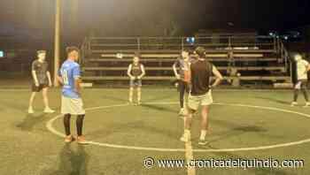 Inició torneo de microfútbol en Filandia - La Cronica del Quindio