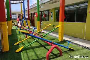 ARCC: inauguran dos colegios, pistas y veredas en distrito liberteño de Paiján - Agencia Andina