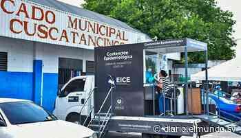 Realizan en mercado de Cuscatancingo pruebas covid-19 para detectar contagios - Diario El Mundo