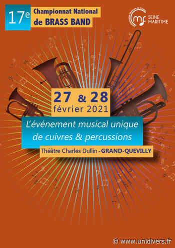 Championnat National de Brass Band 2021 Théâtre Charles Dullin samedi 27 février 2021 - Unidivers