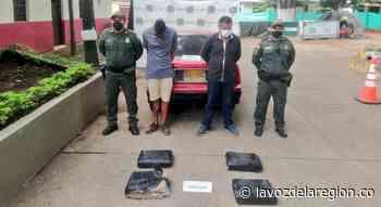Policía incautó 20 kilogramos de marihuana en la vía Yaguará - Neiva - Huila