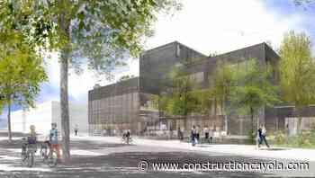 Saclay : mise en chantier de la gendarmerie et du Centre Teilhard de Chardin - Construction Cayola