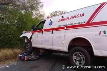 En plena visita de AMLO muere repartidor atropellado en Zinacatepec | e-consulta.com 2021 - e-consulta