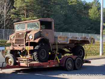 Capreol railroad museum to restore a 1942 Canadian military vehicle - Londoner