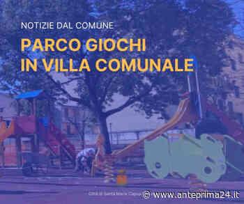 Santa Maria Capua Vetere: parco giochi in villa comunale, completati i lavori alla prima area - anteprima24.it
