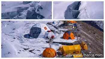 La acumulación de nieve ralentiza la ascensión al Manaslu de Alex Txikon - MARCA.com