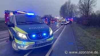 Zwischen Altenberge und Laer: Vier Verletzte nach schwerem Unfall - Münsterland - Allgemeine Zeitung