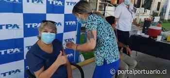 Arica es primer puerto del norte de Chile en plegarse a campaña de vacunación contra el Covid-19 - PortalPortuario