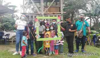Jornada de prevención del reclutamiento forzado con niños indígenas de Timaná - Huila