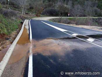 """Denuncian que el nuevo acceso a Villavieja se convierte en un """"lodazal de agua, barro y piedras"""" tras ... - Infobierzo.com"""