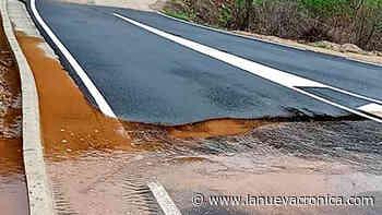 Villavieja se queja del lodazal formado tras el arreglo del vial - La Nueva Cronica