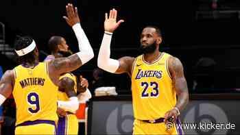 Natürlich LeBron: James rettet Lakers-Sieg gegen OKC in Overtime - kicker