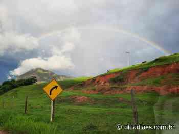 Foto do dia: arco-íris embeleza estrada que vai para Muniz Freire » DiaaDiaES.com.br - Dia a Dia Espírito Santo