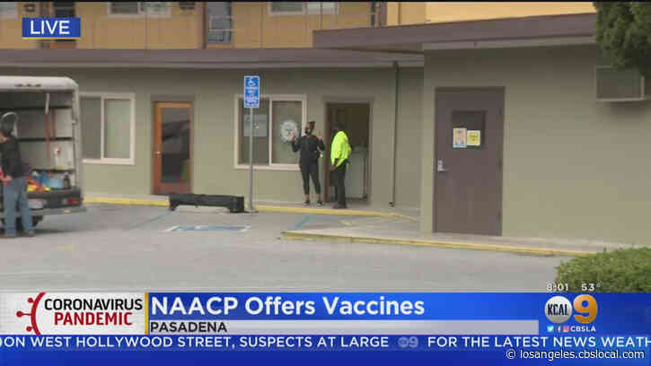 Pasadena NAACP Opens Targeted COVID-19 Vaccine Clinic