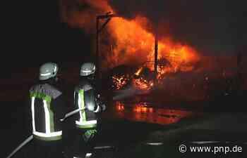 Schwerer Brand in Oberbayern: Ermittler gehen von Brandstiftung aus - Passauer Neue Presse