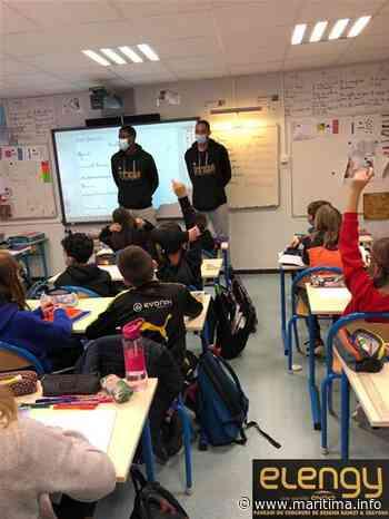 Fos sur Mer - Social - Top départ de l'opération ' basket & crayons ' avec Fos Provence Basket - Maritima.info