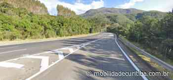 Capotamento interdita parcialmente BR-116 em Campina Grande do Sul - Mobilidade Curitiba