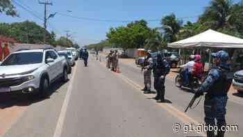 Ponto turístico no carnaval, Aracati tem barreira na entrada da cidade para impedir chegada de foliões - G1