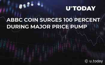 ABBC Coin Surges 100 Percent During Major Price Pump - U.Today