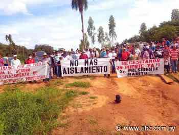 Pobladores piden construcción de puente entre Minga y Los Cedrales - ABC en el Este - ABC Color