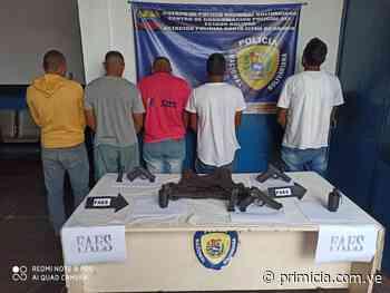 Cinco detenidos con armamentos y explosivos en Santa Elena de Uairén - primicia.com.ve