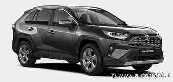 Vendo Toyota RAV4 HV (218CV) E-CVT 2WD Lounge nuova a Cirie', Torino (codice 8645626) - Automoto.it