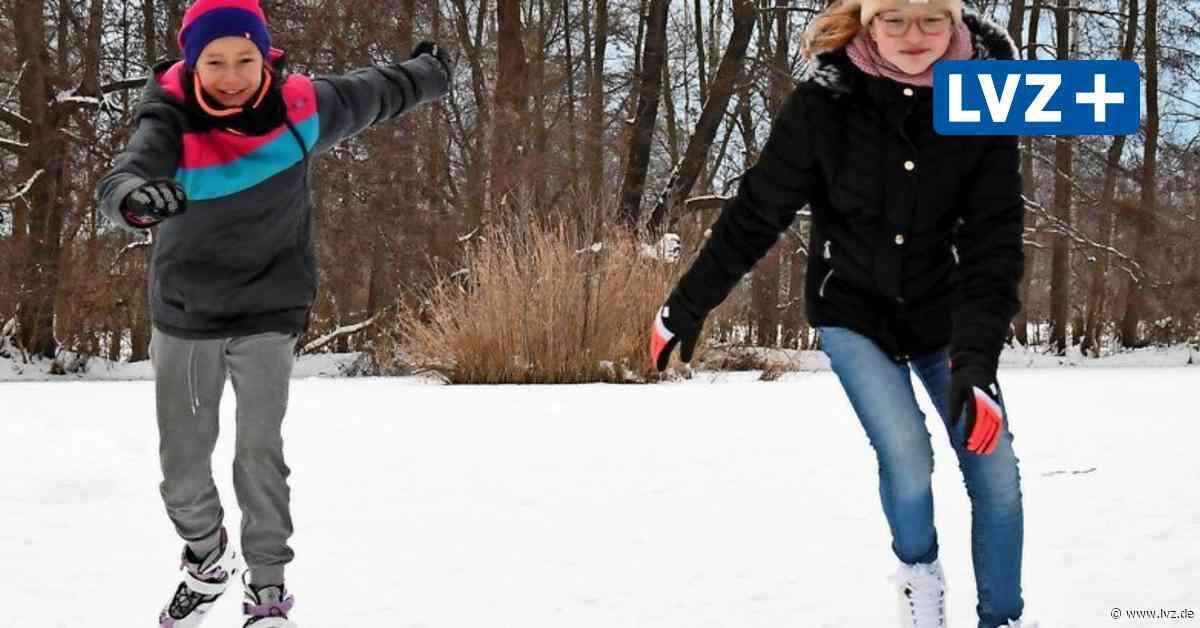 Bad Düben / Eilenburg: Vorsicht beim Betreten von Eisflächen - Leipziger Volkszeitung