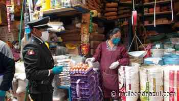 Ilave: Exhortan a la población a cumplir medidas sanitarias durante el desarrollo de actividades comerciales - Radio Onda Azul