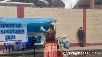 En Ilave promotora de revocatoria de alcalde Villanueva no alcanza firmas - Radio Onda Azul