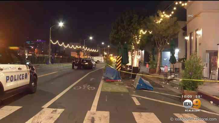 Suspected DUI Driver Crashes, Injuring Outdoor Diners In Santa Monica