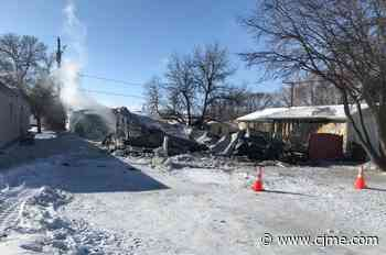 Caronport family loses home in house fire - News Talk 980 CJME